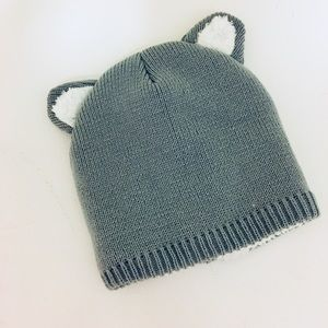 Other - Cozy Knit Beanie with Ears